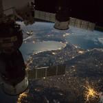 Ilyen elképesztően fest éjszaka a Földközi-tenger az űrből