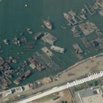 Hajótemető a New York-i Staten Island kikötőjében