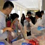 Photo: Zacskós levegőt árulnak egy kínai bevásárlóközpontban
