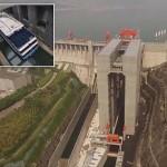 Elkészült a világ legnagyobb hajóliftje Kínában