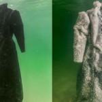 Sószoborrá változott a Holt-tengerbe süllyesztett ruha