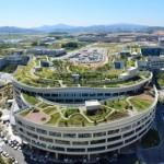 Dél-koreai kormányépület tetején fekszik a világ legnagyobb tetőkertje