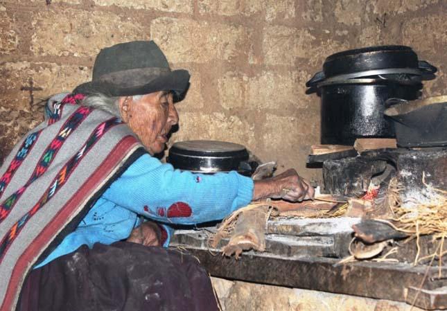 116 éves perui asszony