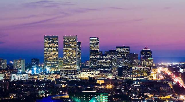 Nagyvárosok a legimpozánsabb felhőkarcolókkal