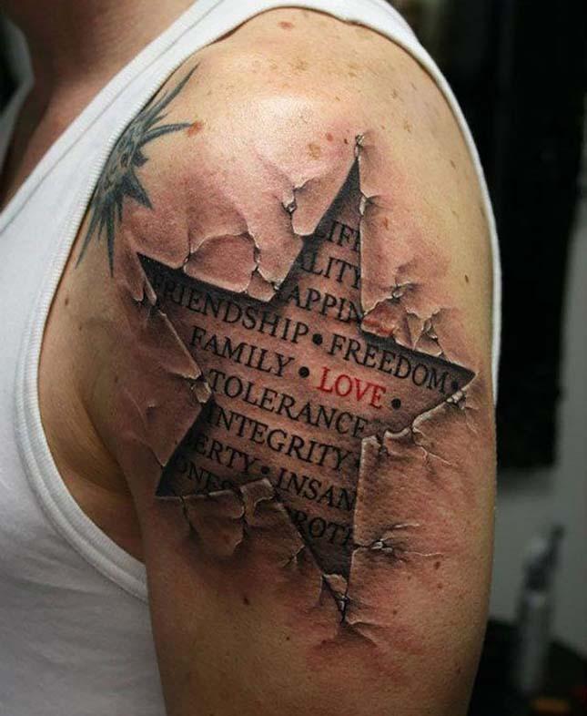3D-s tetoválások