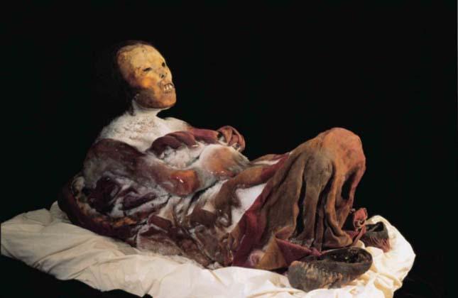 Juanita, egy inka lány múmiája