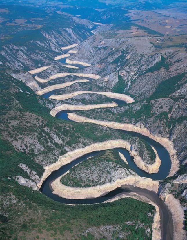 Uvac kanyon