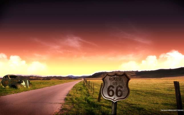 66-os út, USA