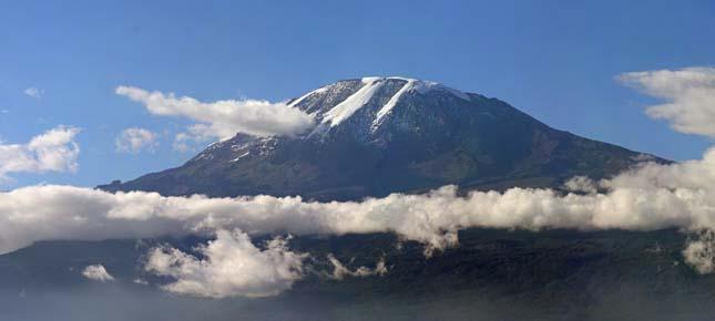 85 évesen mászta meg a Kilimandzsárót