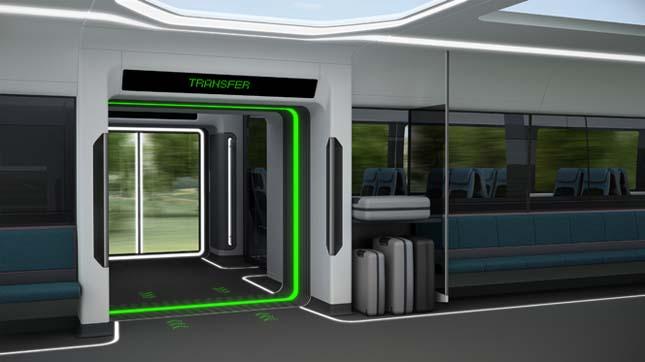A jövő vasúti közlekedése