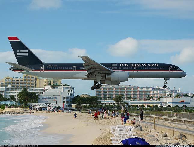 Princess Juliana nemzetközi repülőtér, Szent Márton-sziget