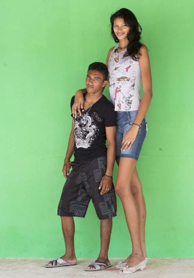 A legmagasabb lány a világon
