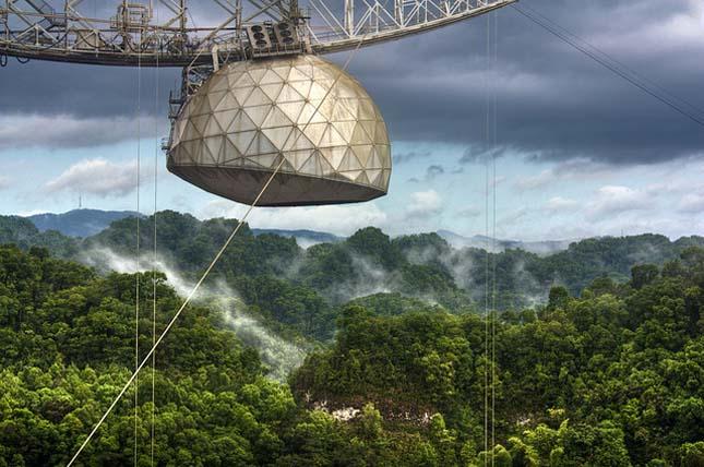 A világ legnagyobb rádióteleszkópja, Arecibo Obszervatórium