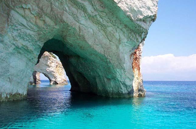 Blue Caves - Zakynthos, Görögország