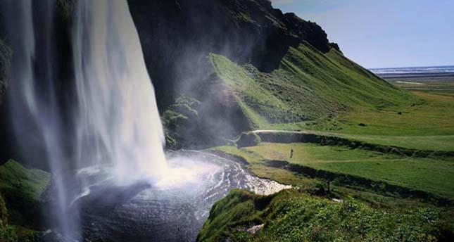 Seljalandsfoss- vízesés, Izland
