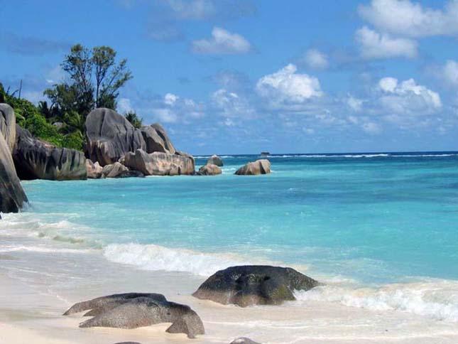 Anse Source d'argent, La Digue, Seychelles-szigetek