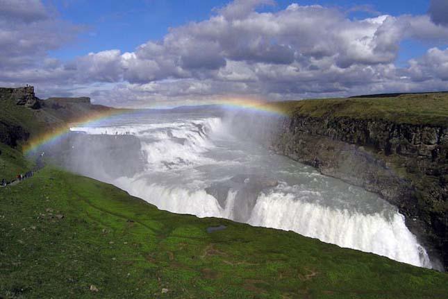 Gullfoss-vízesés, Izland