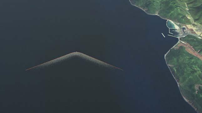 A legnagyobb tengeri szemét tisztító