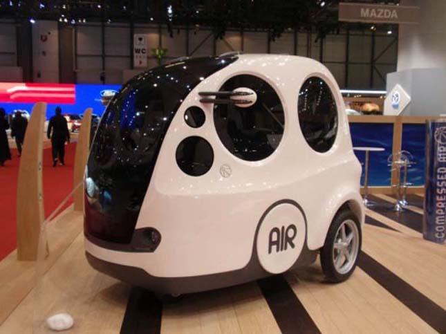 AirPod, levegővel hajtott autó