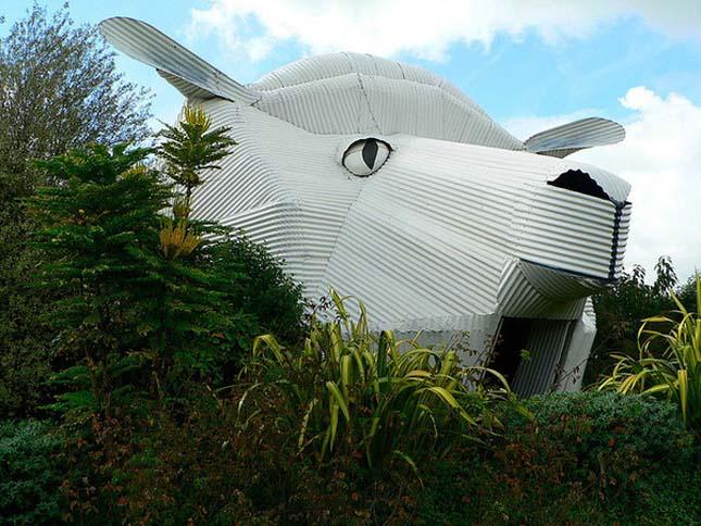 Állatokat mintázó épületek