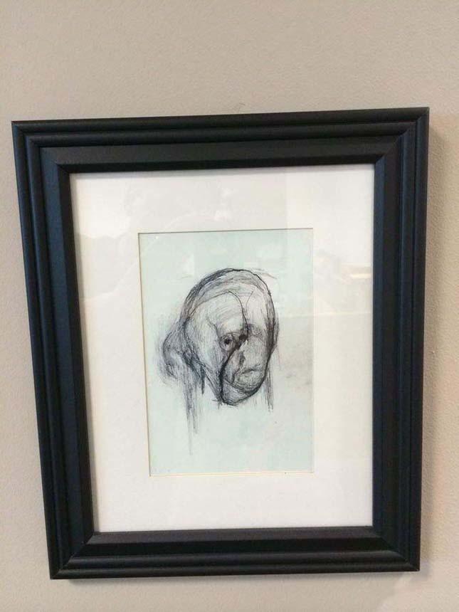 Alzheimer kórban szenvedő művész önarcképei