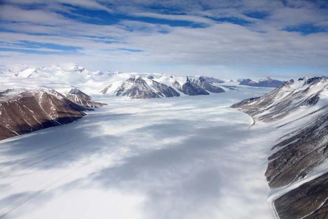 Antarktiszi jégolvadás