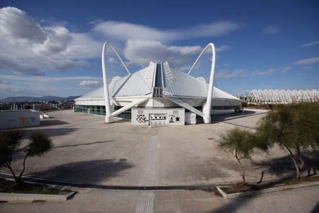 Athéni olimpia helyszínei
