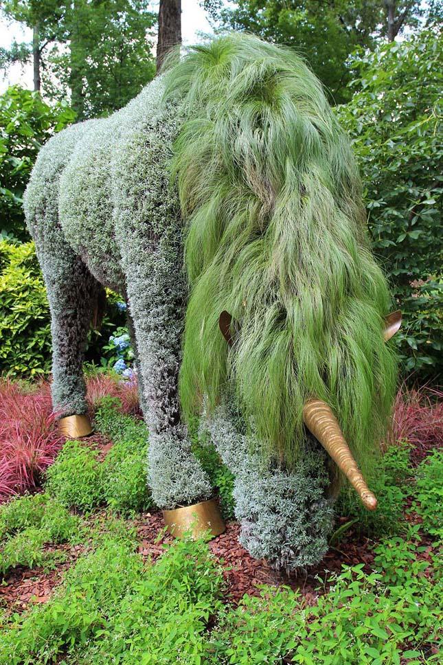 Növényszobrok