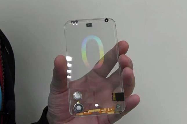 Átlátszó mobil