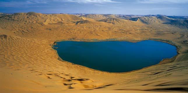 Badain Jaran sivatag