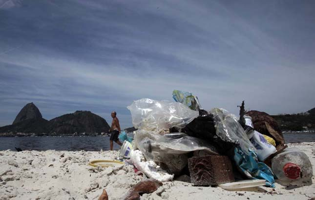 Brazília koszos tengerpartja