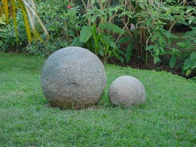 Costa Rica-i kőgolyók