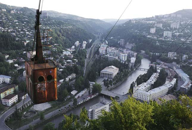 Csiatura bányaváros, Grúzia