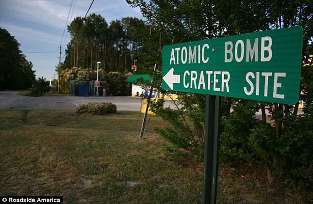 Atombomba hullott Dél-karolinára