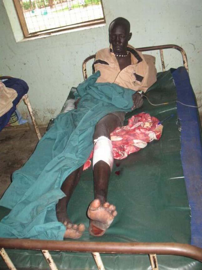 Dél-Szudáni börtön