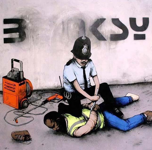 Dran - Francia streetart művész alkotásai