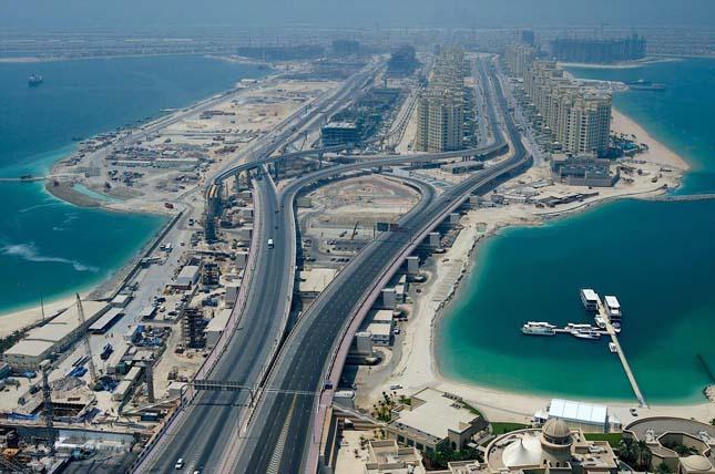 Dubai mesterséges szigetei