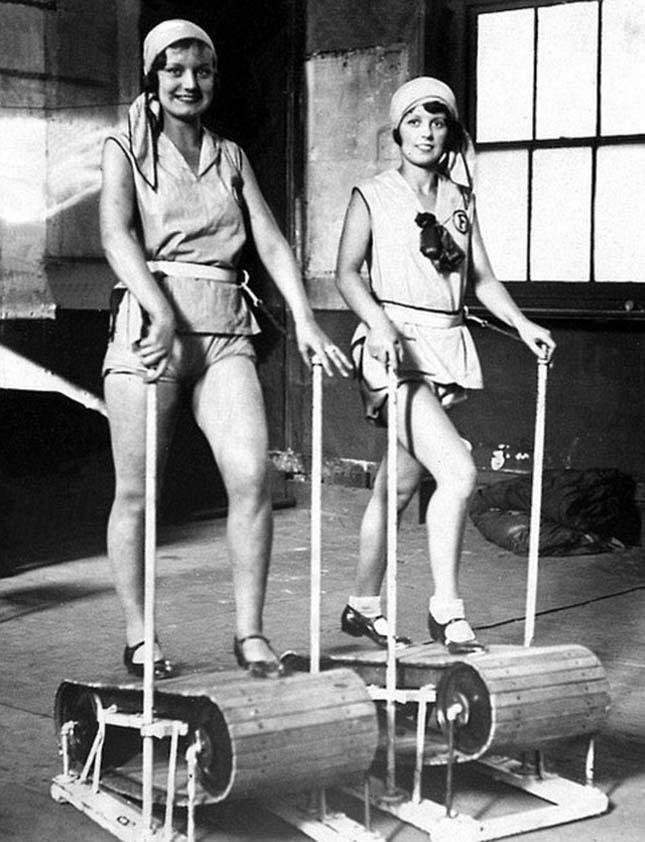 Edzőgépek a múlt században