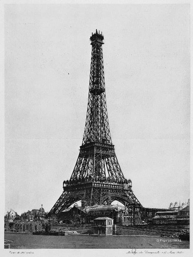 Eiffel-torony építése