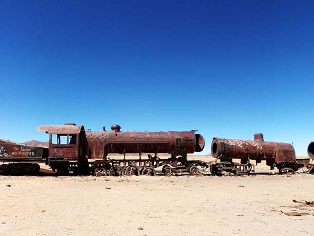 Elhagyott vonattemető