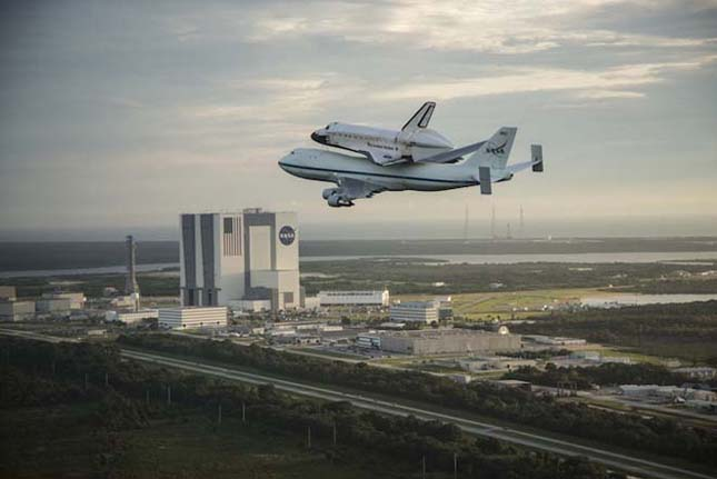 Az Endeavour űrsikló utolsó útja
