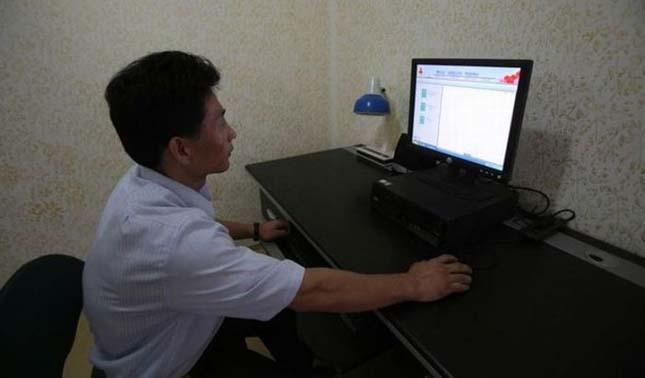 Propaganda lakás Észak-Koreában