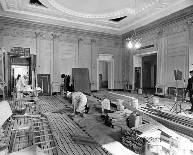 Fehér Ház átalakítása