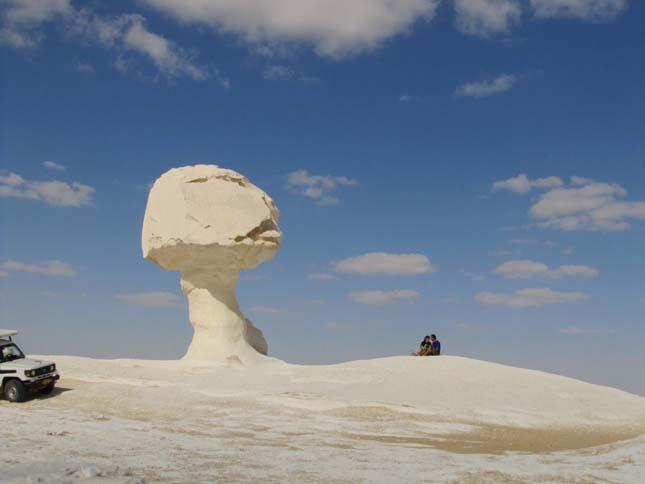 Sahra el-Beida, Fehér-sivatag