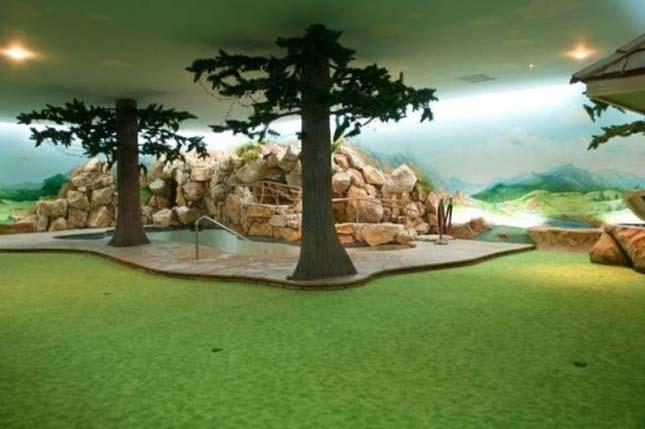 Földalatti luxus atombunker