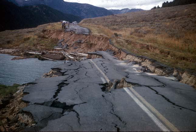 Földrengésveszély USA