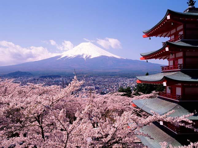 Fuji, Japán