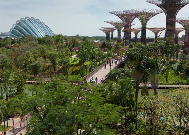 Gardens by the Bay, Szingapúr