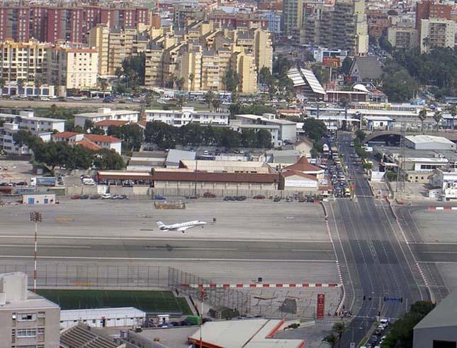 Gibraltári repülőtér