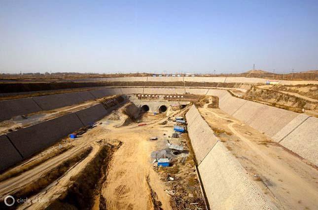 Gigantikus csatornarendszer Kínában